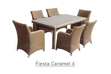 Ratanový zahradní nábytek Fiesta caramel 6